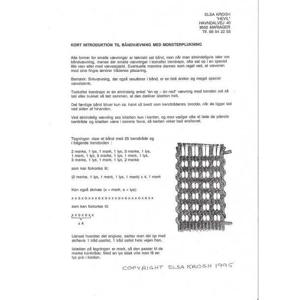 Kort introduktion til båndvævning