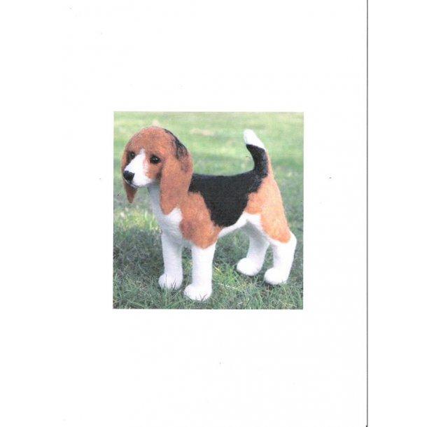 Nålefilte kit - Beagle SÅ LÆNGE LAGER HAVES !