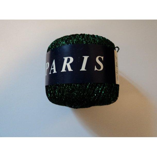 Paris, Farve Grøn. 60% cupro / 40% polyester. 20g. SÅ LÆNGE LAGER HAVES!!