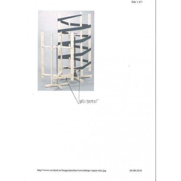 Skelbræt til trendbord med 2,5 m. omkreds SÅ LÆNGE LAGER HAVES !