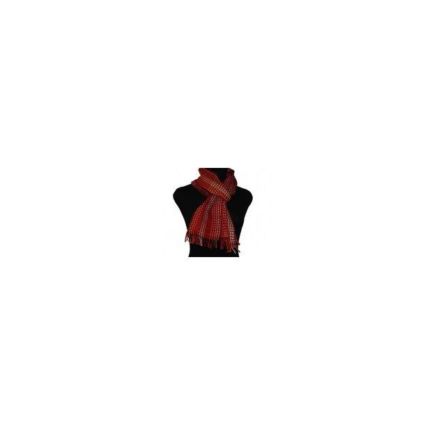 Weaving-kit scarf malof nr. 0027 red. Til computerstyrede væve. Normal leveringstid 1 - 9 dage.