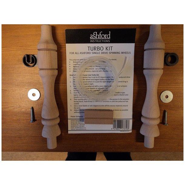 Opstandersæt Standard 1/4 og 1/2'' & elastisk snor