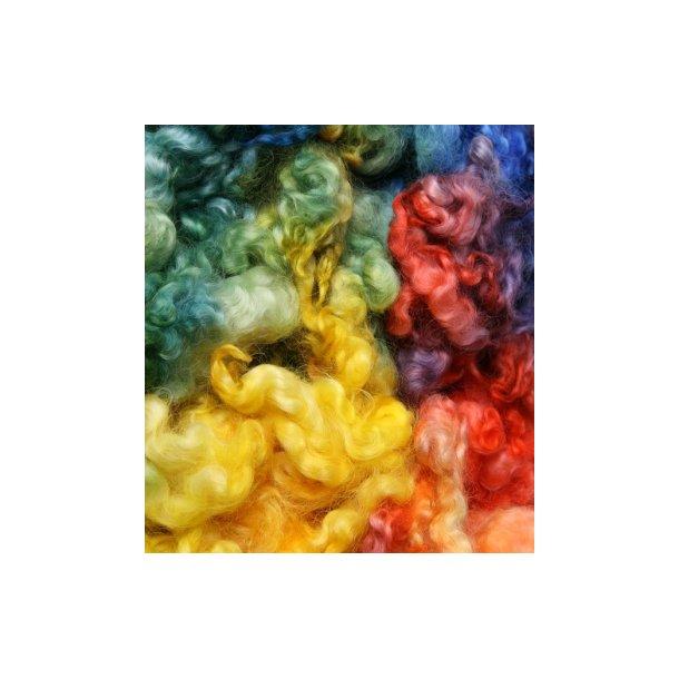 Regnbuefarvet engelsk leicester, 100 gr.